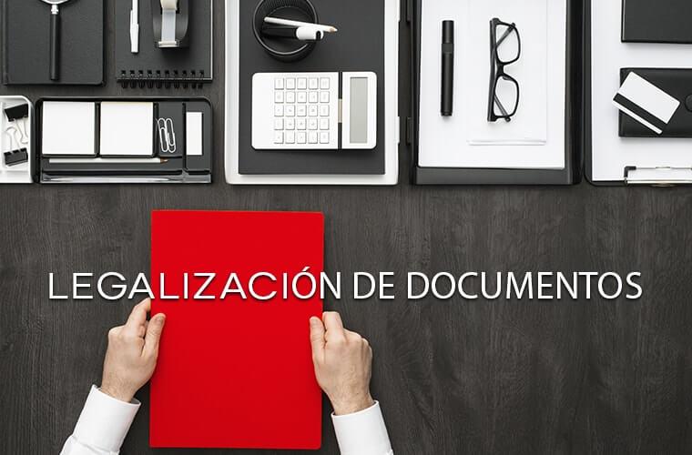 legalización documentos españa
